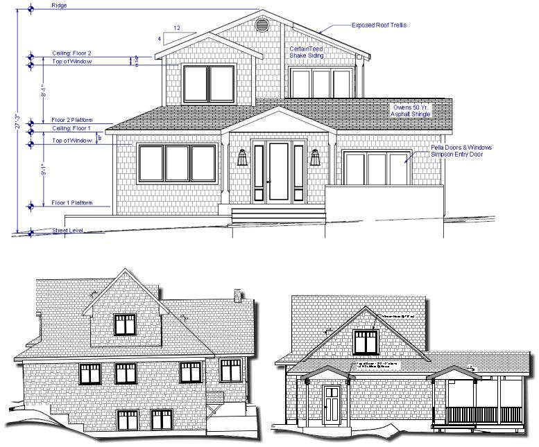 Software pengiraan bahan binaan bina sendiri rumah anda for Arkitek home plans