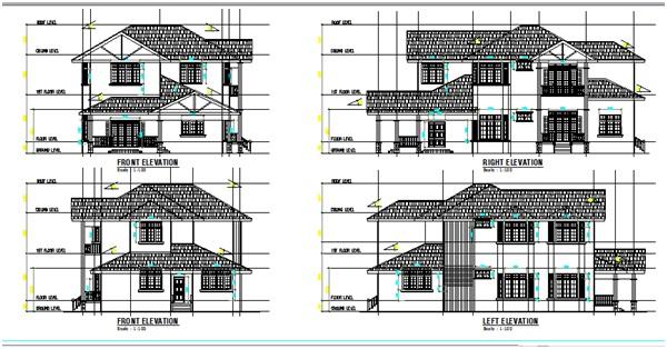 Pelan rumah banglo for Arkitek home plans
